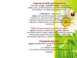 Детский экологический проект Лекарственные растения Хабаровского  Занятие по ИЗО деятельности А у нас в саду зелёная аптека