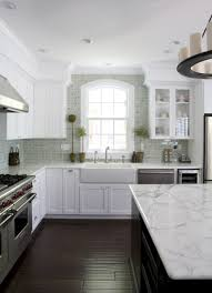 These Kitchen The Cabinets Appear To Have Added Molding And Wood Make  Shorter Go All Way Ceilingu2026clever Lookin Good Charlotte14