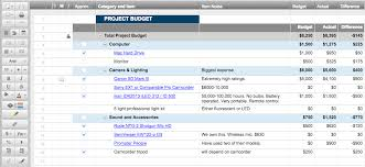 how to create a project budget 12 free marketing budget templates