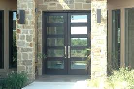 contemporary double front doors contemporary double front doors double front doors with glass