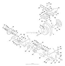 Bunton mower parts diagram vision bzt zero turn riding deck drive system 181658 large1058