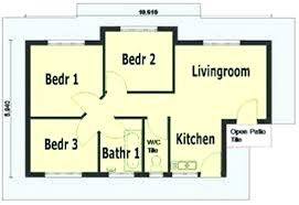 Small 3 Bedroom House Plans Home Plans 3 Bedroom Bedroom Simple House Plans  3 Amazing 3