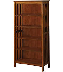 mission style bookcase.  Mission Furniture Of America Liverpool Mission Style 5Shelf Bookcase Antique Oak  Finish In Bookcase Amazoncom
