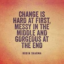Inspirational Quotes About Change Delectable Inspirational Quotes About Change Best Of Change Is Hard At First