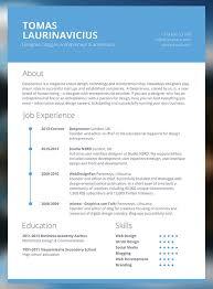 Gallery Of Elegant Resume Template 7 Free Word Pdf Documents