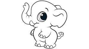 Baby Elephant Coloring Pages Awesome Baby Elephant Coloring Pages