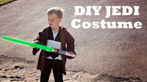 the easy jedi diy costume tutorial