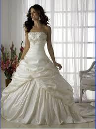 shipping custom made strapless appliques taffeta wedding dresses