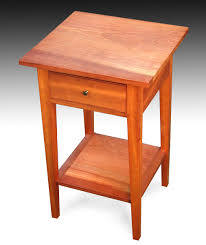 cherry end tables. Table Two Cherry End Tables E