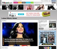 Billboard Magazine Online A Simple But Captivating Website