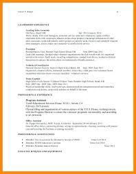 leadership experience resume leadership experience leadership skills resume  examples