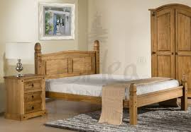 Mexican Pine Bedroom Furniture Corona Low End Bedstead Wooden Beds The Bed Post