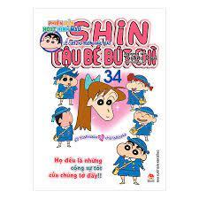 Shin Cậu Bé Bút Chì - Phiên Bản Hoạt Hình Màu: Lễ Cưới Tại Trường Mẫu Giáo  - Tập 34 (Tái Bản)