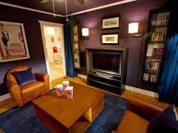 small media room ideas. HRMR-306_Media-Room-After_h Small Media Room Ideas HGTV.com
