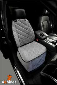 bucket seat cover for dogs and pets for cars trucks and suvs grey