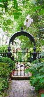garden gates and