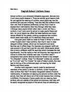 persuasive essay against school uniforms a persuasive essay against school uniforms