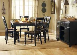 Distressed Black Kitchen Table Homelegance Oxford Dining Table Black Cherry 729bk