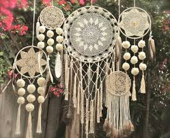 Macrame Dream Catcher Patterns Free These dream catchers can be made in a variety of sizes patterns 17