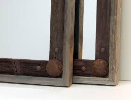 rustic wood mirror frame. Brilliant Frame Rustic Reclaimed Wood Mirror Frames For Rustic Wood Mirror Frame R