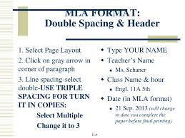 Ppt Mla Format Review Powerpoint Presentation Id2426650