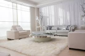 decorating with white furniture. Terrific Round Glass Levels Coffee Desk Storage On White Rectangle Fur Rug Also Chesterfield Living Decorating With Furniture D