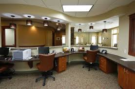 dental office design simple minimalist. Interior: Luxurious Office Interior Design With Black Computer On Unusual Table Closed Chair Dental Simple Minimalist
