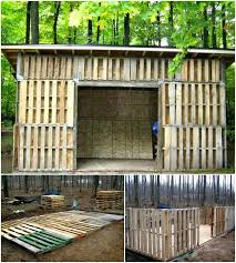 build your own pallet shed free plan