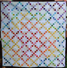 Happy Quilting: Super Scrappy Single Irish Chain - A Finish and ... & And since I ended up doing my own thing and going the Irish Chain route, I  figured you might like to join in on the fun as well and make your own ... Adamdwight.com