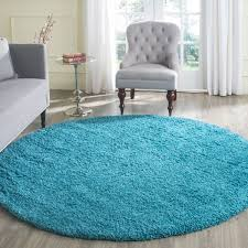 round rug turquoise area ideas room plush laa safavieh nuloom reiko traditional vintage fancy grey modern