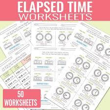 Elapsed Time Worksheets - Easy Peasy Learners