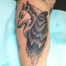 значение татуировки волк воет на луну образ волка у разных народов