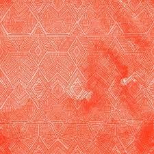 seamless vintage wallpaper pattern orange. Beautiful Seamless Seamless Geometric Pattern With A Watercolor Texture Coral Vintage  Wallpaper Bright Colors Spots With Vintage Wallpaper Pattern Orange