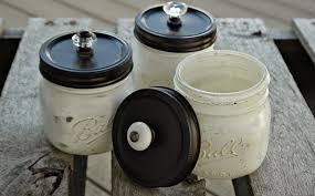 Painted Mason Jars Craft Fair Painted Mason Jars And Weathered Wood Boxes Little