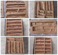 artificial stone wall molds