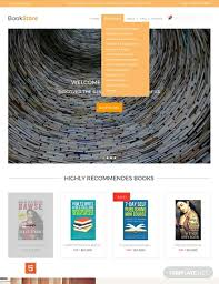 Free Downloads Web Templates Free Book Store Psd Website Template Psd Html5