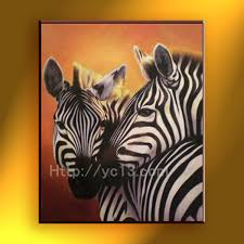 zebra oil painting home goods oil painting canvas art