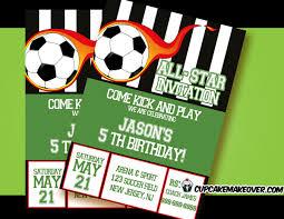 Soccer Party Invitations Soccer Party Invitation Beautiful Soccer Birthday Invitations