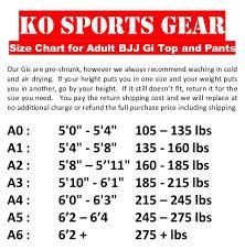 Gi Sportz Pants Size Chart Summer Rip Stop Kimono And Pants Grappling Green Camo Ko