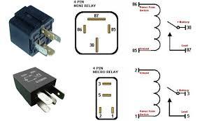 4 pin relay wiring diagram gooddy org 4 pin relay wiring diagram horn at 4 Wire Relay Diagram