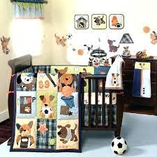 sports themed bedding baby boy nursery wall decor crib baseball bedroom