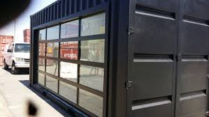 clear garage doorsClear Garage Doors Glass Garage Doors The Benefits Are Clear Omega