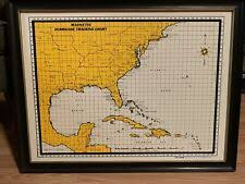 Magnetracker Magnetic Hurricane Tracking Chart For Sale