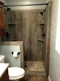 custom shower kits shower someday i will build this tile designed to look like old barn custom shower kits