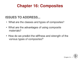 Ppt On Composite Materials Ppt Chapter 16 Composites Powerpoint Presentation Id 713099