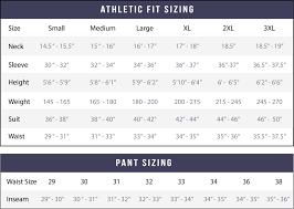 Sizing Chart State And Liberty Clothing Company Canada