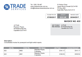 Form For Invoice How To Set Up Invoice Forms Simpro