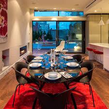 Moderner Esstisch Marmor Oval Schwarz Soho Penthouse Gd