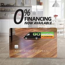 financing is now available through go mobile flooring tampa flooring company