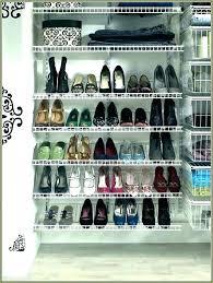 closetmaid shoe shelf shoe shelf home depot storage rack organizer hi res closet shelves packed with closetmaid shoe shelf